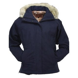 Outback Trading Jacket Womens Outerwear Gold Cup Zip Faux Fur 2377