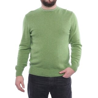Luciano Barbera Long Sleeve High Neck Sweater Men Regular Sweater Top