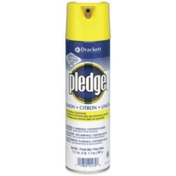 Pledge 77047 Lemon Clean Furniture Polish Spray 13 8 Oz Free Shipping On Orders Over 45 25098224