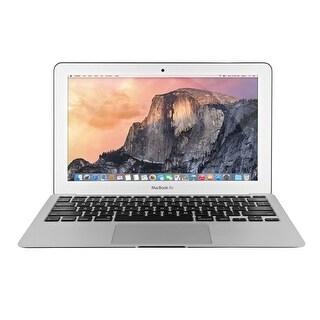 """Apple MacBook Air MD711LL/B Intel Core i5-4260U X2 1.4GHz 4GB 128GB SSD 11.6"""", Silver (Refurbished)"""