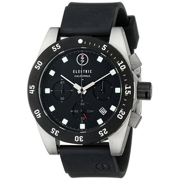 Electric Men's DW01 PU Watch Black / Orange
