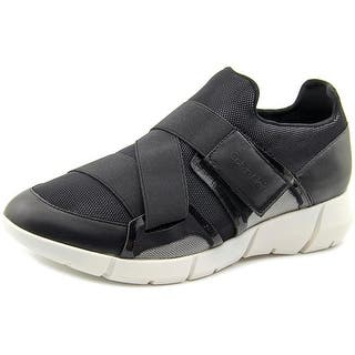 Calvin Klein Willia Women Round Toe Synthetic Sneakers|https://ak1.ostkcdn.com/images/products/is/images/direct/01a6429c4286b5d257886ea679577ba8901c01b3/Calvin-Klein-Willia-Women-Round-Toe-Synthetic-Black-Sneakers.jpg?impolicy=medium
