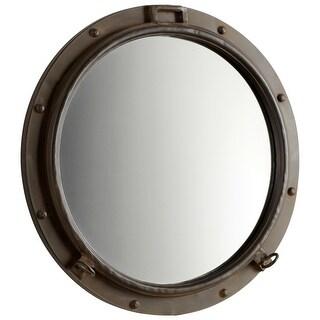 Cyan Design 5081 Porto Rounded Mirror - Rustic Bronze