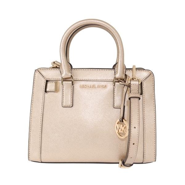 d1c061e125 Michael Kors Handbags Pale Gold DILLON Leather Satchel Bag - One Size