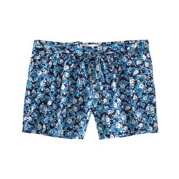 Aeropostale Womens High-Waist Tie Casual Mini Shorts