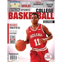 201516 Athlon Sports College Basketball Preview Magazine Indiana Hoosiers Cover