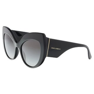 Dolce & Gabbana DG4321 501/8G Black Cat Eye Sunglasses - 55-20-140