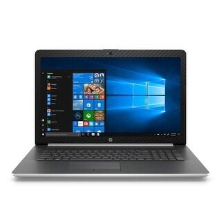 "HP 17-BY Intel Celeron N4000 4GB 1TB HDD 17.3"" HD+ WLED Wind 10 Laptop (Silver)-Refurbished"