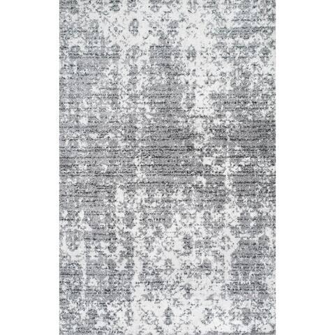 Porch & Den Seigel Granite and Mist Grey Area Rug