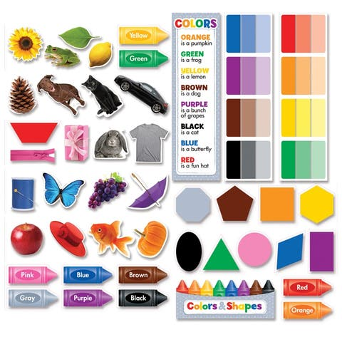 (3 St) Colors & Shapes Mini Bb Set