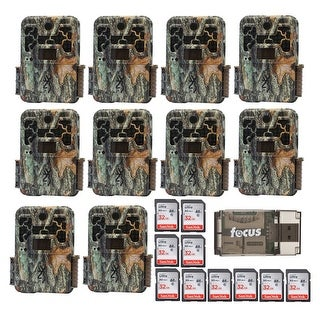 Browning Recon Force 20MP Trail Camera (10) with 32GB Card (10) and USB Reader - Camouflage