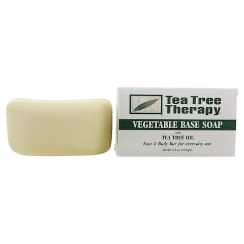 Tea Tree Therapy - Vegetable Based Soap with Tea Tree Oil - 3.9 oz. - 3.90 oz.