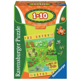 Numbers 1-10 80 Piece Puzzle