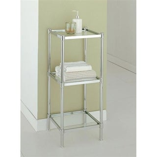 Organize It All 16953 3 Tier Bathroom Shelf