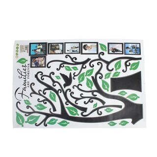 Tree Branches Decal Wall Decor Sticker Green