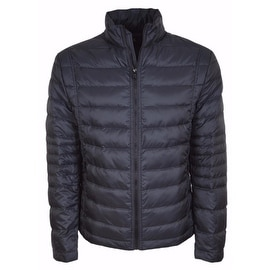 NEW BOSS Hugo Boss Men's Blue Quilted Down Puffer Jacket 44 54