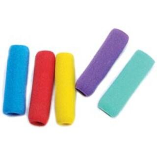 """Foam Pencil Grips 1-3/4"""" 6/Pkg-Assorted Colors"""