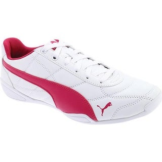 PUMA Girls' Tune Cat 3 Jr Sneaker PUMA White/Beetroot Purple