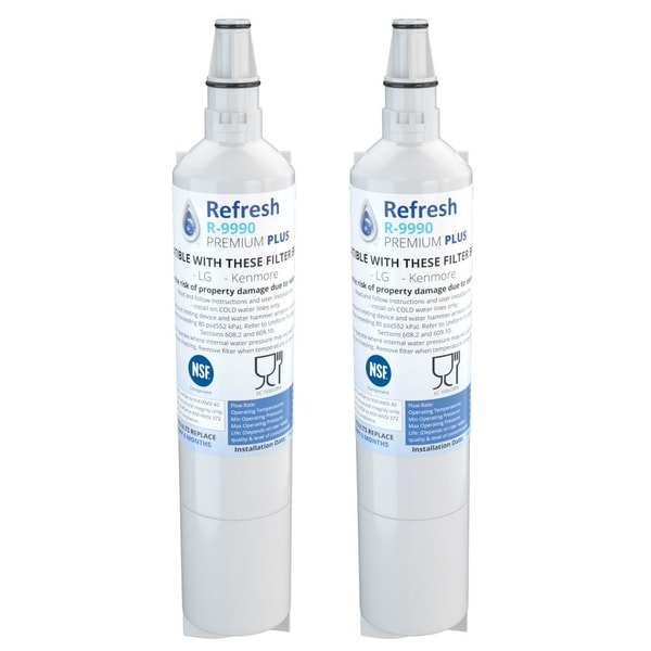 Replacement Water Filter For LG LFX21975ST 2-Pack