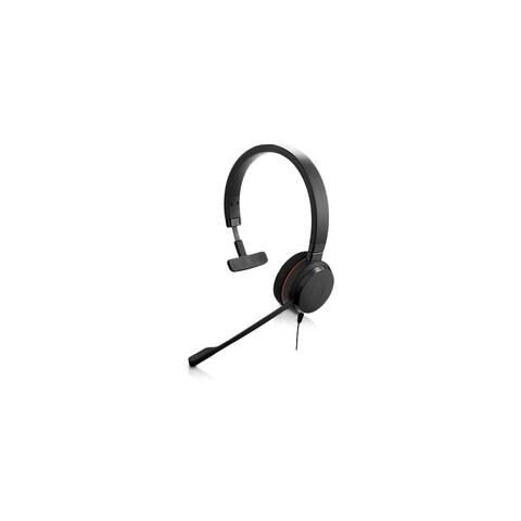 Jabra Evolve 30 UC Mono Noise Canceling Microphone Corded Headset