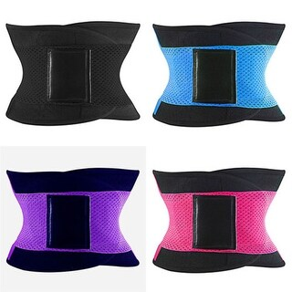 Women Men Slimming Waist Belt Girdles Sport Firm Control Shapewear Waist Trainer