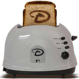 Arizona Diamondbacks MLB ProToast Toaster|https://ak1.ostkcdn.com/images/products/is/images/direct/01b0b2dc34855399bb21448ce7be3722e8c02742/Arizona-Diamondbacks-MLB-ProToast-Toaster.jpg?impolicy=medium