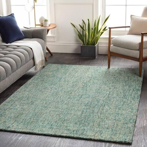 Azle Modern Wool Handmade Area Rug