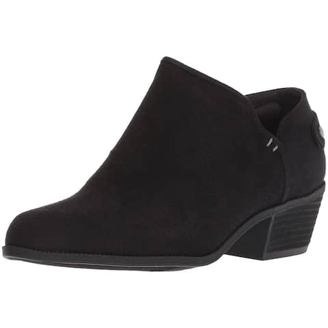 Dr. Scholl's Shoes Womens better ankle Fabric Almond Toe Ankle Fashion Boots