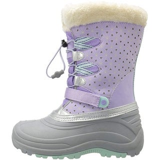 Kids JambuKD Girls Nydia Mid-Calf Bungee Snow Boots