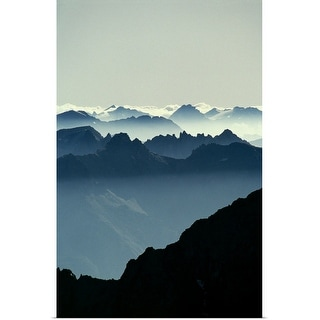 """Mountains"" Poster Print"