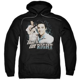 Elvis That's All Right Mens Pullover Hoodie