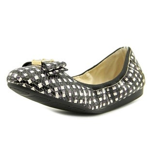 Cole Haan Tali Bow Ballet  C Round Toe Leather  Ballet Flats