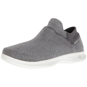 c3462cd0ed Shop Skechers Performance Women's Go Step Lite Ultrasock Walking Shoe,  Gray, Size 6.5 - Free Shipping On Orders Over $45 - Overstock - 21222521