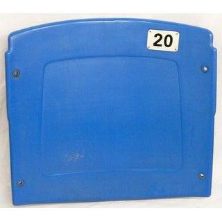 Silverdome Light Blue Actual Stadium Seat Back 20  Home Of Detroit Lions 19752001