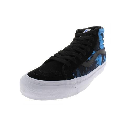 Vans Mens OG Sk8-Hi LX Skate Shoes Fashion High Top