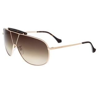 Balenciaga BA0030 28F Gold Shield Sunglasses - 66/8/135