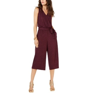 Link to Michael Kors Womens Cropped Jumpsuit, purple, P Similar Items in Outfits