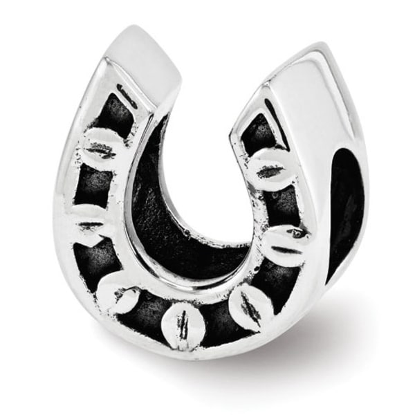 Sterling Silver Reflections Horseshoe Bead (4mm Diameter Hole)