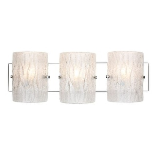 Alternating Current AC1103 Brilliance Chrome 3 Light Bathroom Vanity