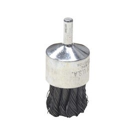 "Weiler 1"" Knot Wire End Brush"