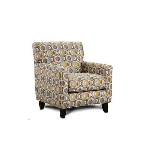 Macon Galaxy Grey Accent Chair