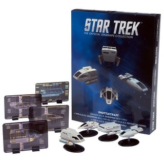 Star Trek Eaglemoss Ships: Shuttlecraft 4-Pack