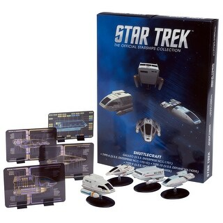 Star Trek Eaglemoss Ships: Shuttlecraft 4-Pack - Multi