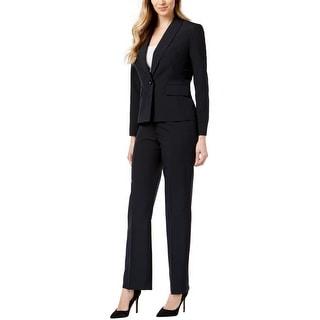 Link to Le Suit Womens Pinstripe Pant Suit, Blue, 4 Similar Items in Suits & Suit Separates