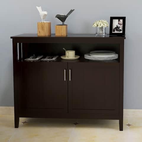 Brown Kitchen Storage Sideboard