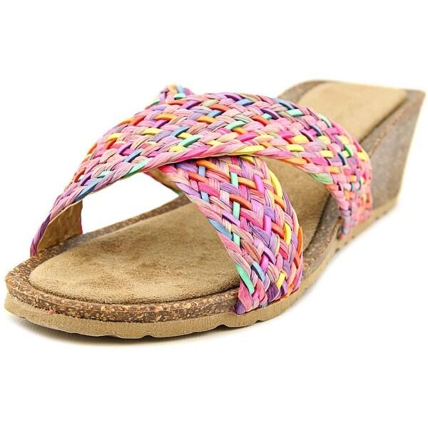 Bella Vita Pavia Women  Open Toe Leather  Wedge Sandal