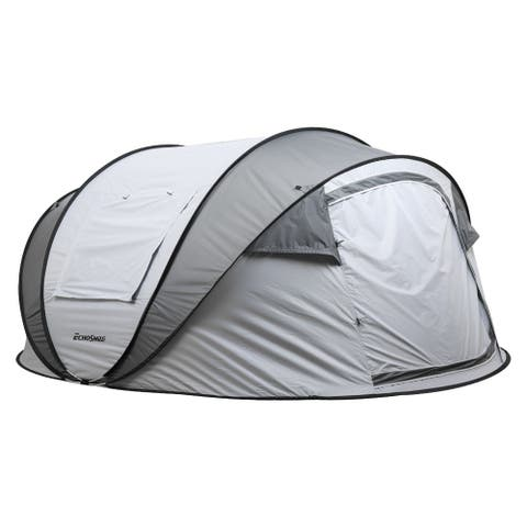 "EchoSmile pop up tent for 5-8 people - 125.98""L x 86.61""W x 51.18""H"