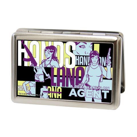 """Archer Lana """"A Real Hands on Agent"""" Large Business Card Holder"""