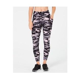 Calvin Klein Performance Women's Camo-Print High-Waist Leggings, XS