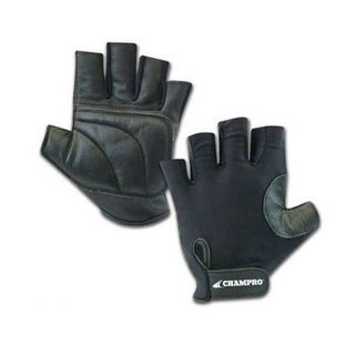CHAMPRO Padded Palm Baseball/Softball Catchers Glove  A058 (Black, One Size)